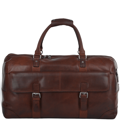 Ashwood Leather Hampstead Francis Tan Large Travel Holdall