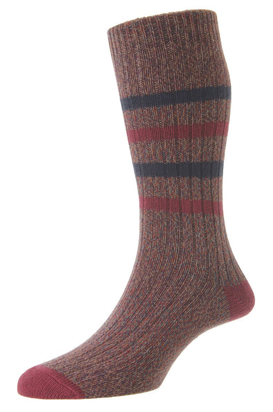 HJ Hall Hillberry Port Chunky Cotton Socks HJ7182