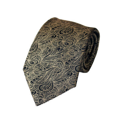 LA Smith Gold Swirl Tie