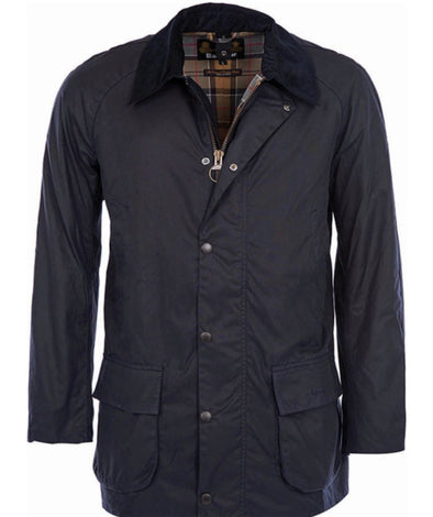 Barbour Navy Bristol Wax Jacket