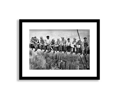 The Art Group Workmen On A Skyscraper Framed Print
