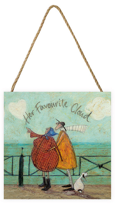 Sam Toft 'Her Favourite Cloud' Canvas