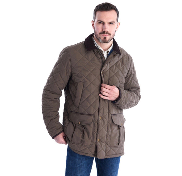 Barbour Men's Langdale Quilt Jacket Forest