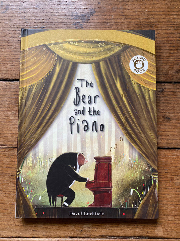 House of Marbles Piano Bear Book