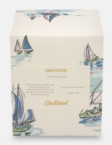 Cath Kidston Crisp Cotton Soy Wax Candle