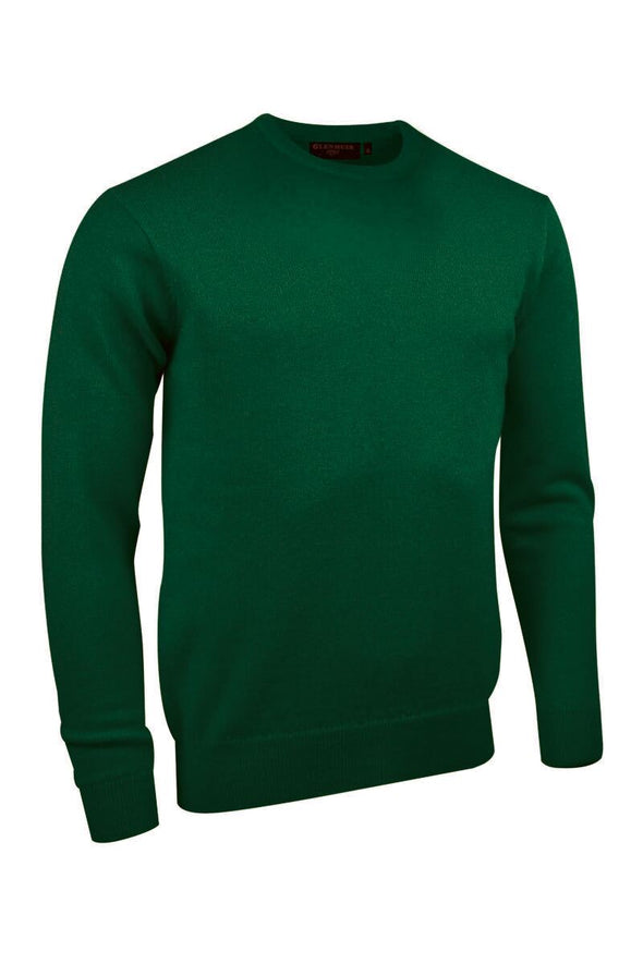 Glenmuir Lambswool Seaweed Crew Neck Jumper