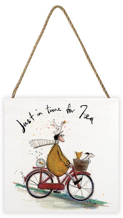 Sam Toft 'Just In Time For Tea' Canvas