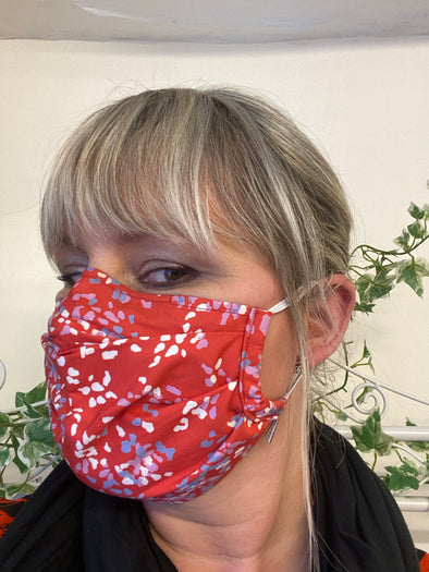 Printed Face Covering Handmade in Ludlow