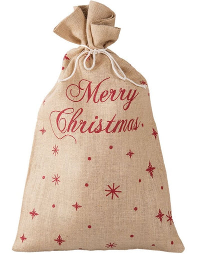 Clayre & Eef Merry Christmas Sack