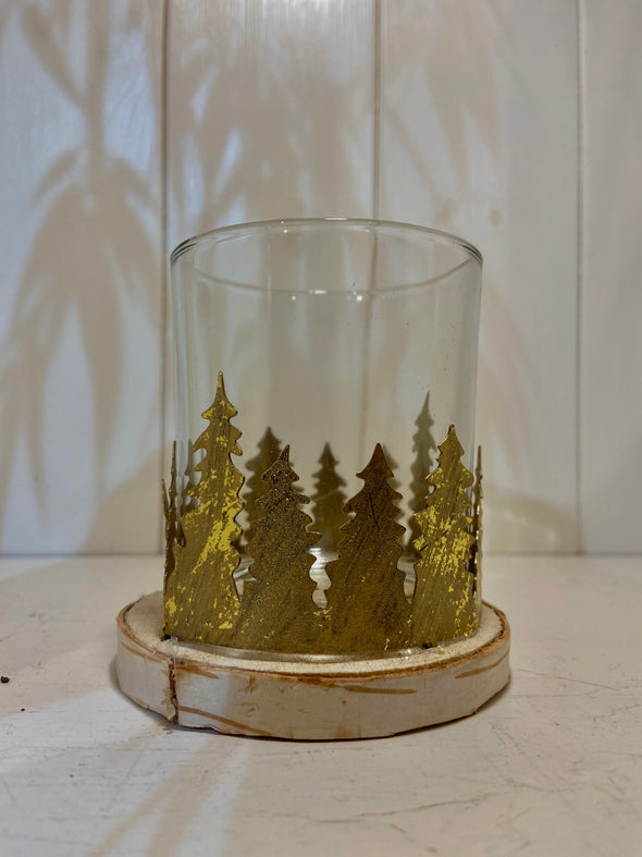Heaven Sends Christmas tree candle holder