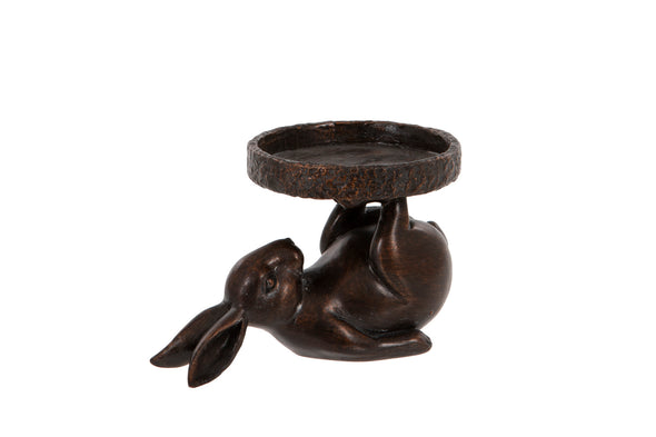 London Ornaments Bunny Candle Holder