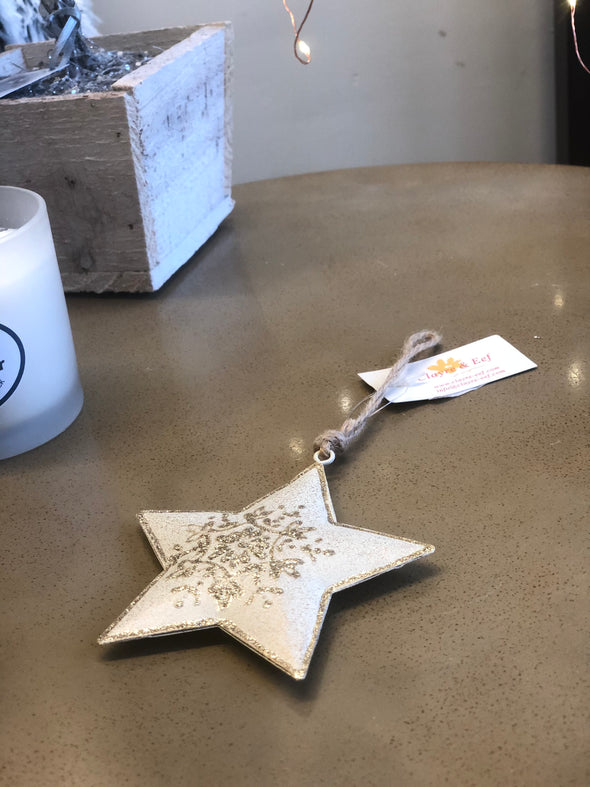 Clayre & Eef Star Bauble