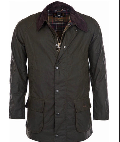Barbour Olive Bristol Wax Jacket