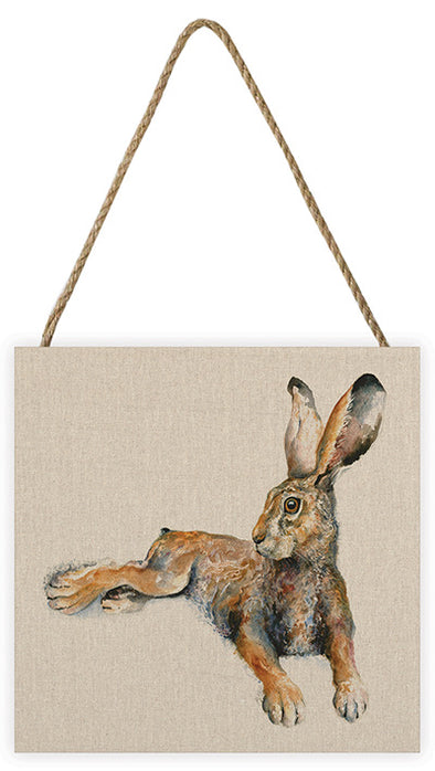 The Art Group Jane Bannon Rabbit Canvas