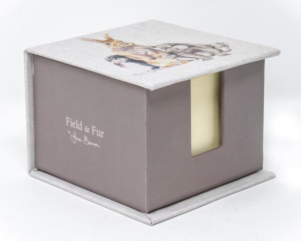 Field and Fur Note Pad Box