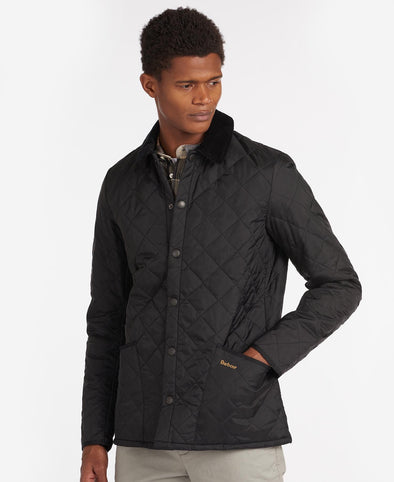 Barbour Heritage Liddesdale Jacket in Black