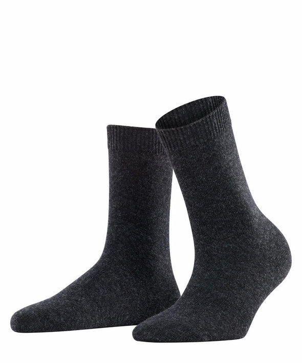 Falke Cosy Wool Women Socks- Anthra.mel