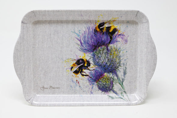 The Art Group Jane Bannon (Bees on Thistle) Tray