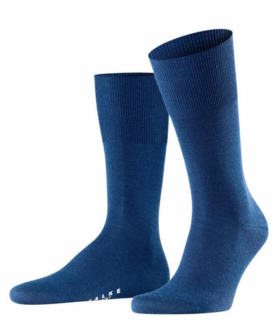 Falke Airport Mens Socks-Royal Blue