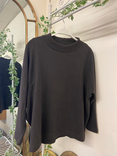 Mama B Marmott M Jumper in Ebano/Brown