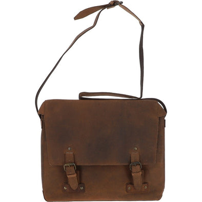 Ashwood Memphis Messenger Bag in Tan