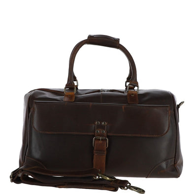 Ashwood Leather Lyndon Copper Brown Holdall
