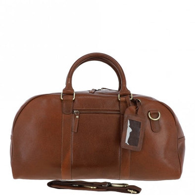 Ashwood M-58 Holdall in Cognac