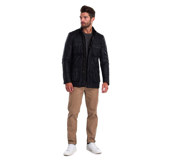 Barbour Corbridge Black Waxed Jacket