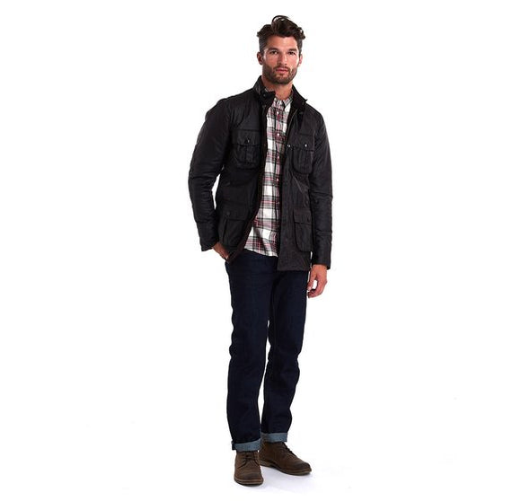 Barbour Corbridge Rustic Waxed Jacket