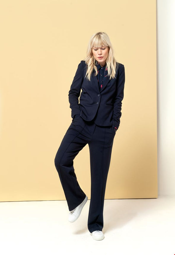 Zilch Navy Trousers