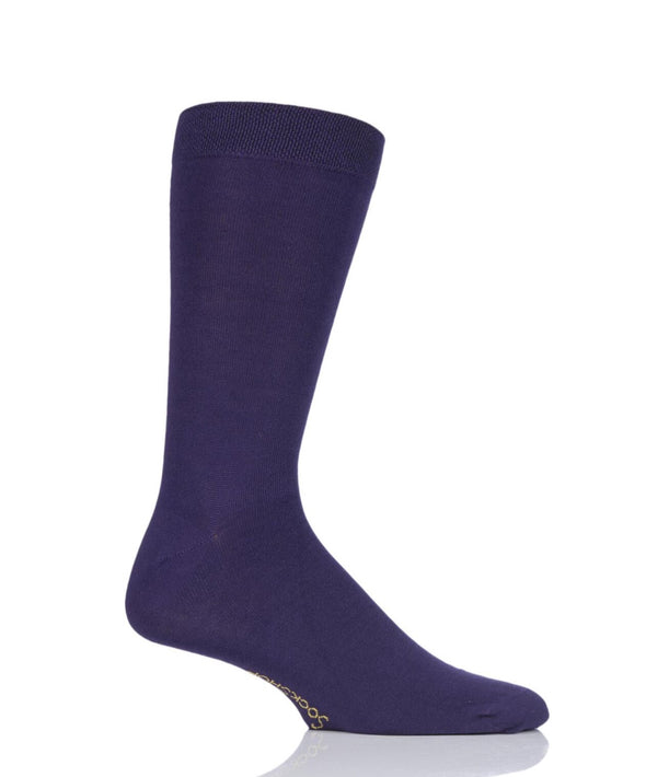 1 Pair Sockshop Purple Rain Rainbow Socks