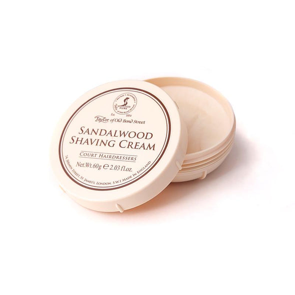 Taylor Of Old Bond Street Sandalwood Shaving Cream Bowl 60g