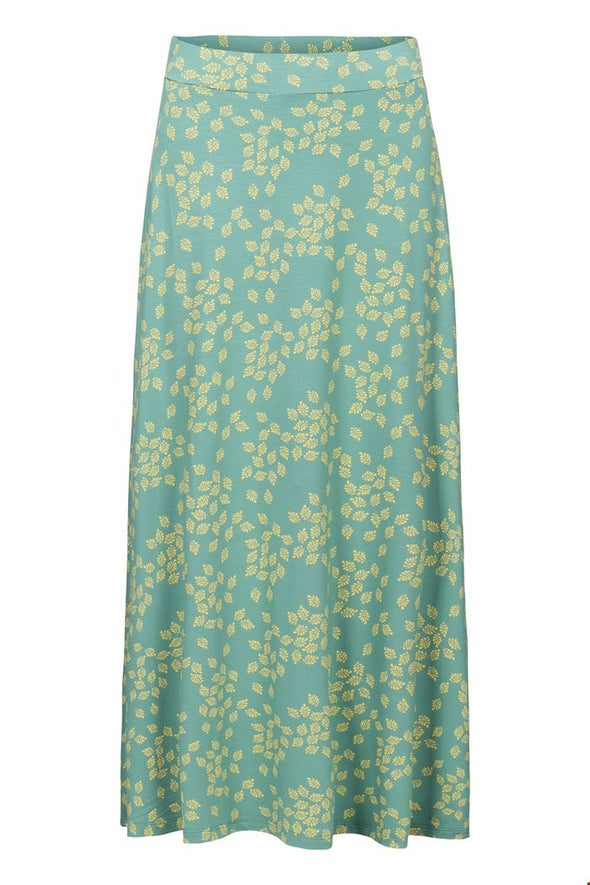 Zilch Leaves Porcelain Long Skirt