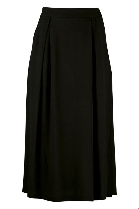 Zilch Black Midi Skirt