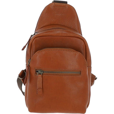 Ashwood 8147 Sling Bag in Temponado Tan