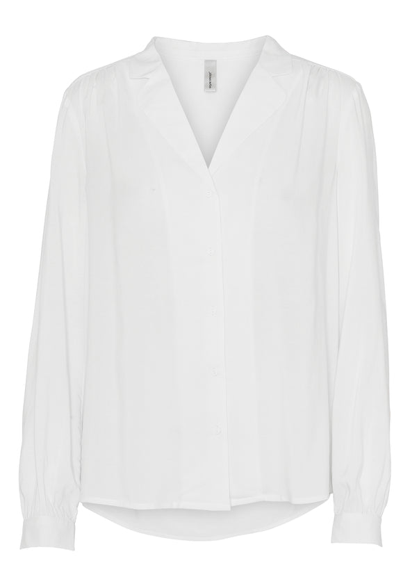 Soya Concept Off White Viscose Blouse