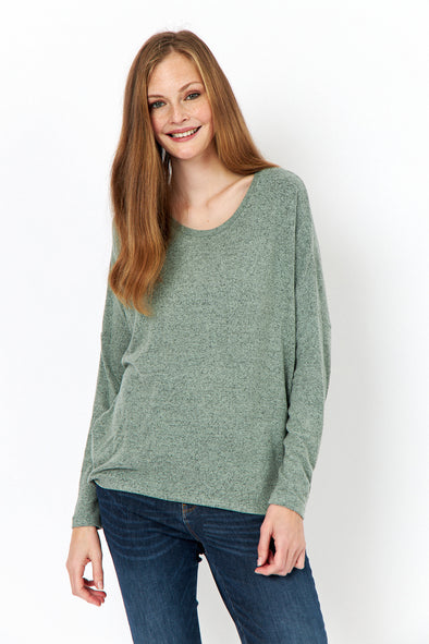 Soya Concept Biara Seagreen Knitted Top