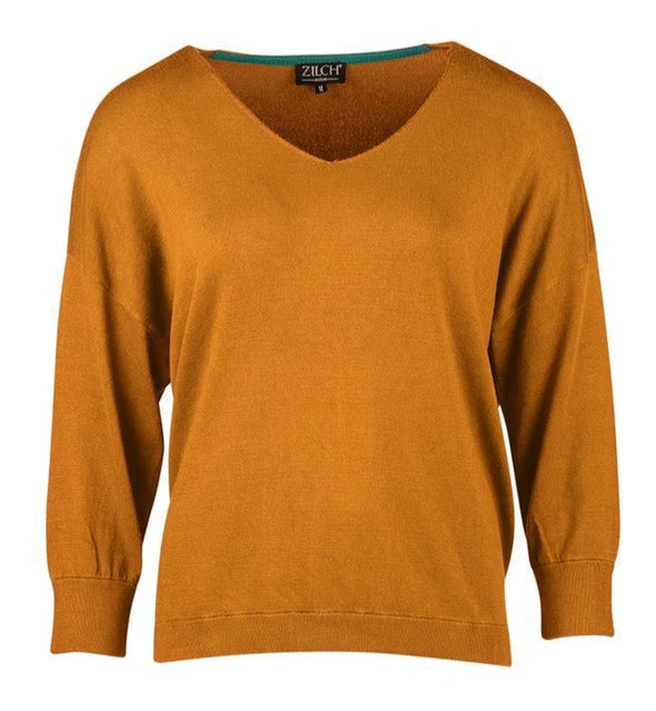 Zilch Sunset V Neck Sweater