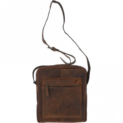 Ashwood Paddy Cross Body Bag in Tan