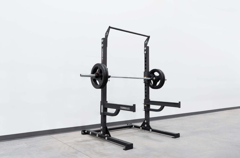 Short Squat Rack with Pull-Up Bar