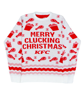 Merry Clucking Christmas Jumper
