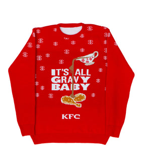 Its All Gravy Baby Christmas Jumper