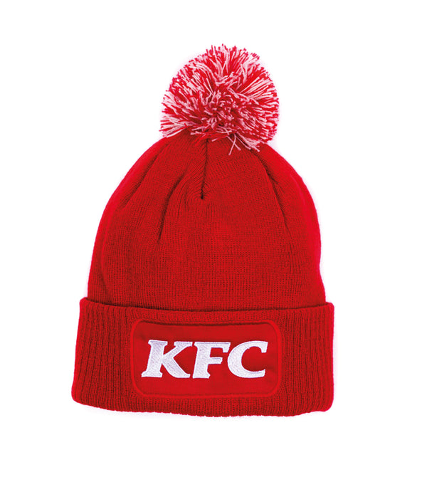 KFC Logo Red Bobble Hat