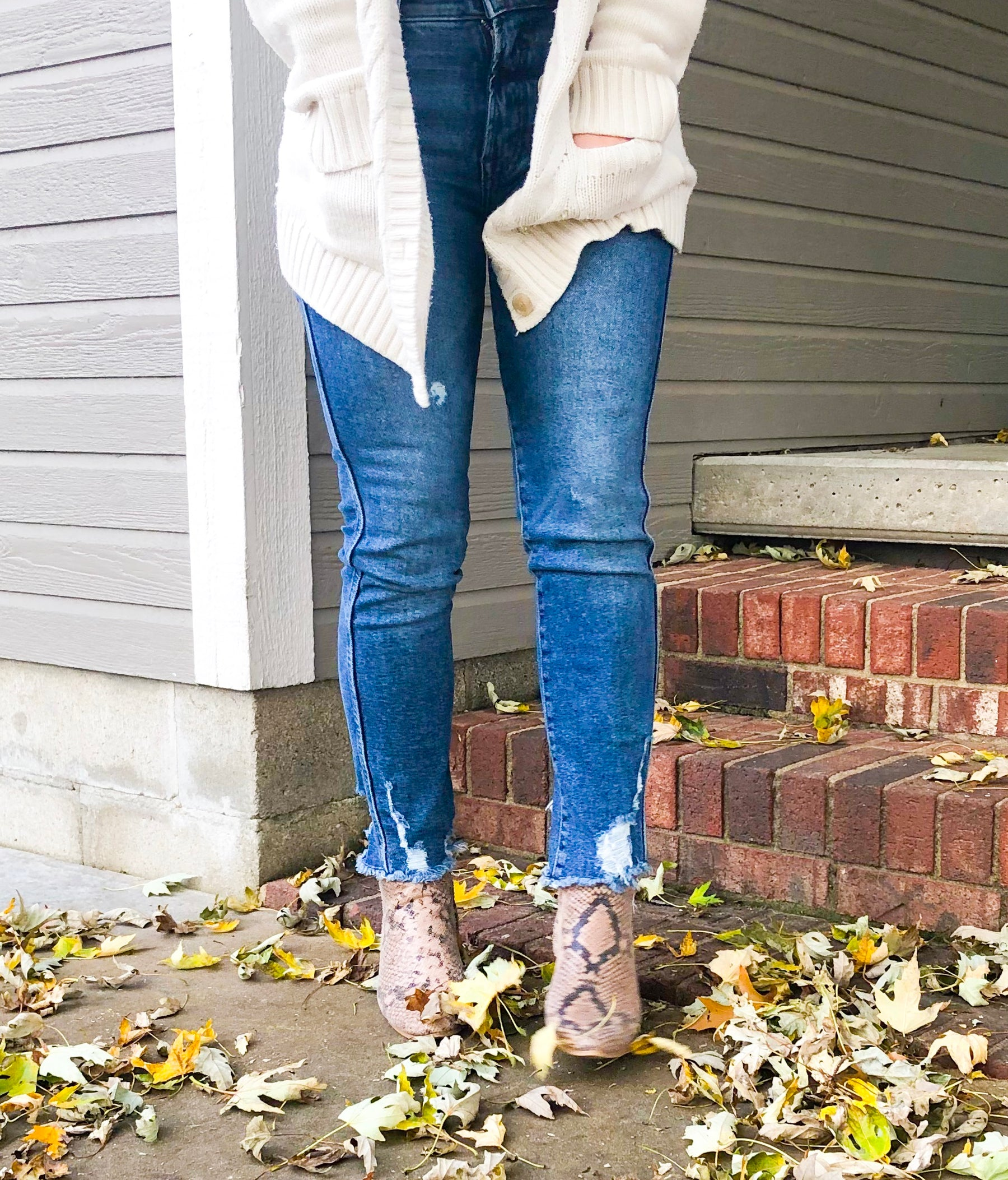 Styling Straight Leg Denim