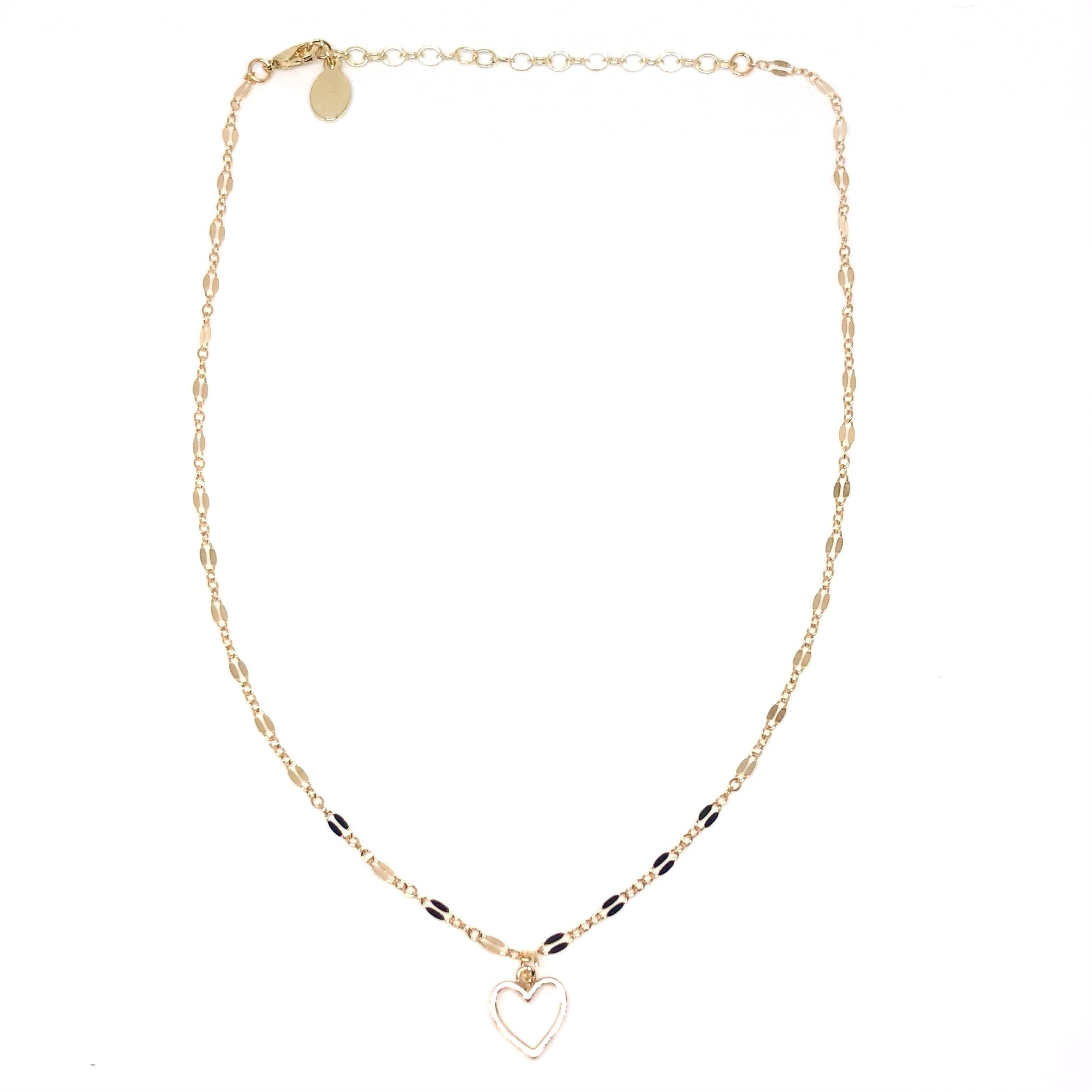 Lovie Heart Choker - Sophie