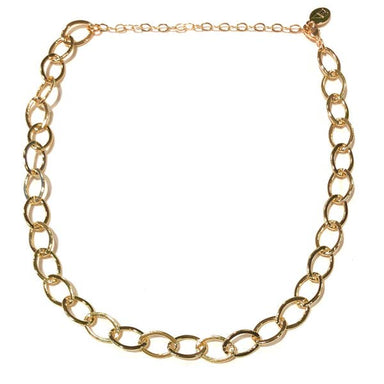 Nikki Smith Designs Eloise Chunky 14K Chain Necklace Accessories - Jewelry - Necklaces - Sophie