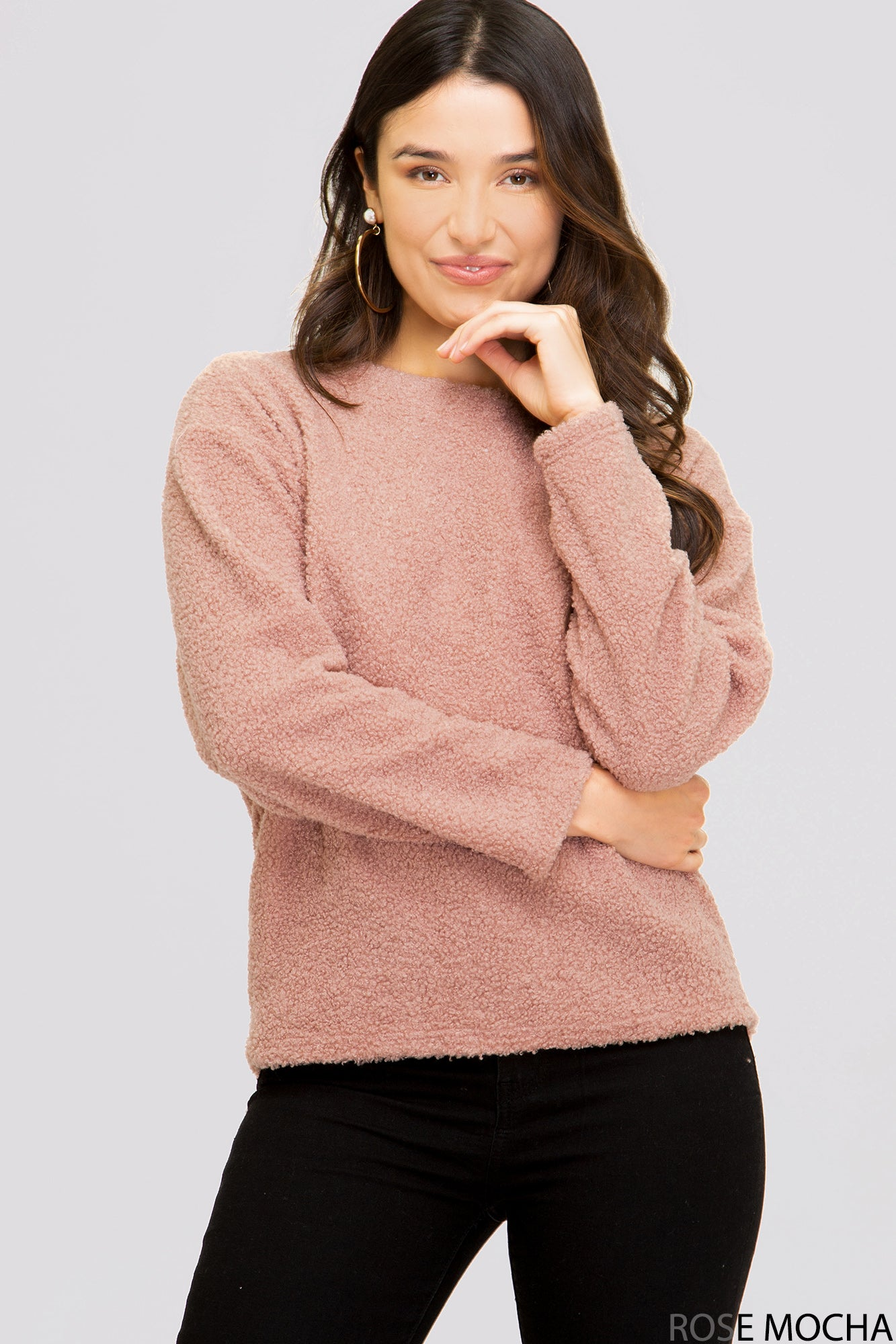 Stay Home Fluffy Pullover - Sophie