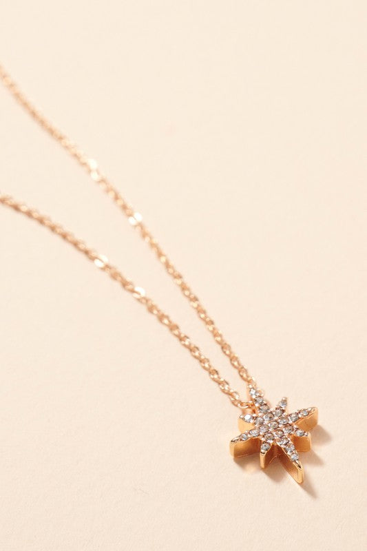 Sophie Northern Star Charm Necklace Accessories - Jewelry - Necklaces - Sophie