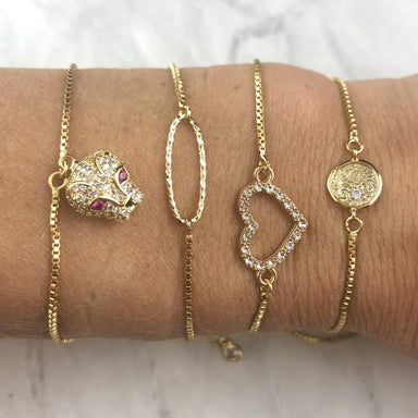 Nikki Smith Designs 14K Gold Filled Bracelet Sliders Accessories - Jewelry - Bracelets - Sophie