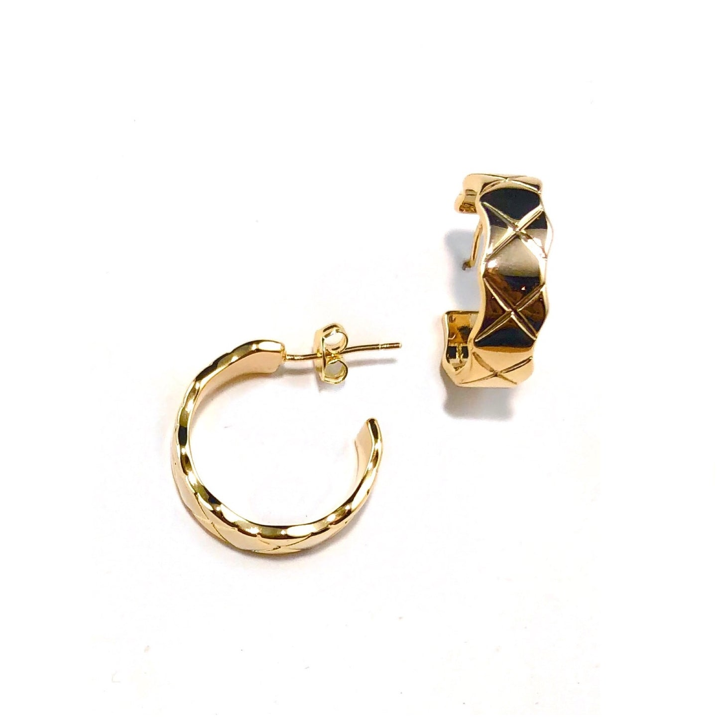Cuff Denver Hoop Earrings - Sophie